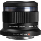 Olympus M.ZUIKO DIGITAL ED 45mm f/1.8 (Black)